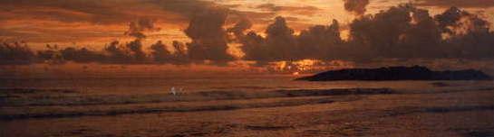 Sunset at Kovalam Beach