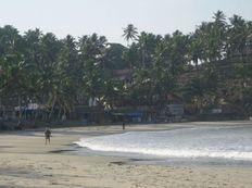 Kovalam Beach at dawn, Kerala