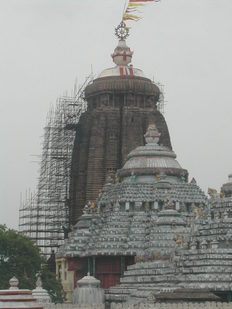Temple in Puri, Orissa
