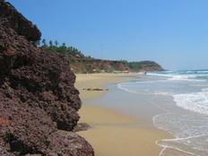 Varkala beach, kerlala
