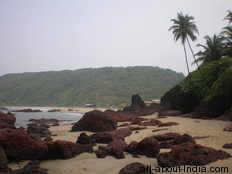 Arambol, Kalacna Beach