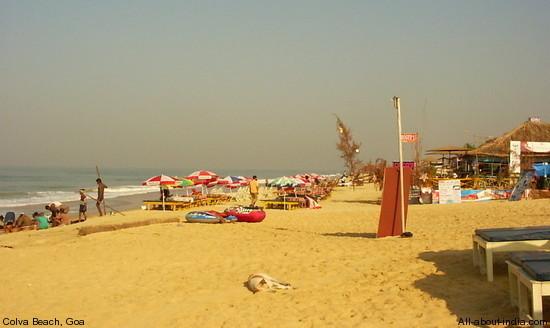 Colva Beach, Sandy