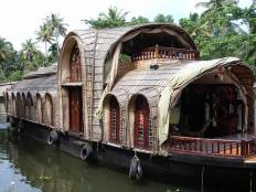 Kerala house boat, big side, Allepy, House boat, Honeymoon
