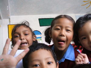 India Travel Blog, Children at school