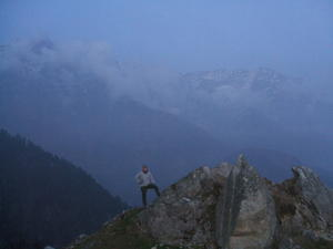 India Travel Blog, Trekking in Triund Mountains