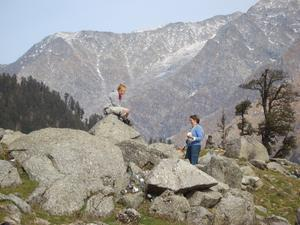 India Travel Blog, Trekking in Triund