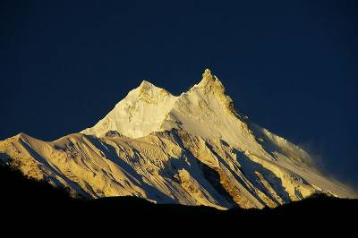 Manaslu Mountain, Himalayas, Mountain