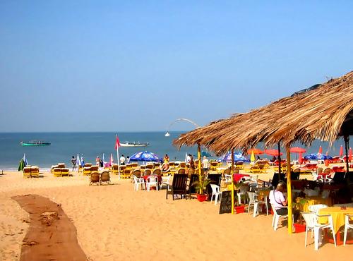 Baga Beach huts, Goa beach huts