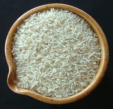 Basmati rice, bowl