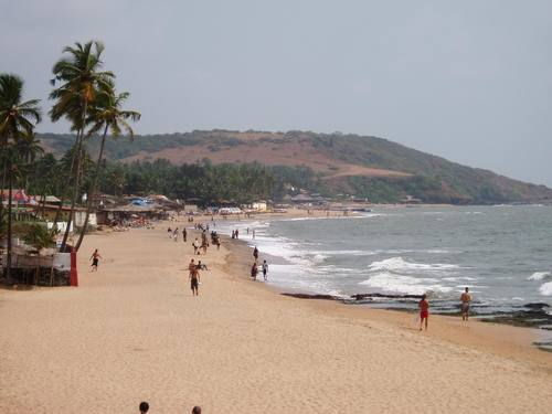 Beaches of Goa, anjuna
