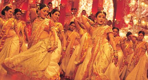 Bollywood dance colour