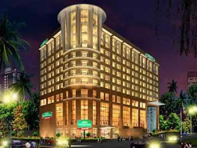 Courtyard hotel. ahmedabad