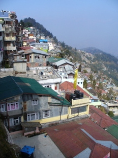 Darjeeling house on hill