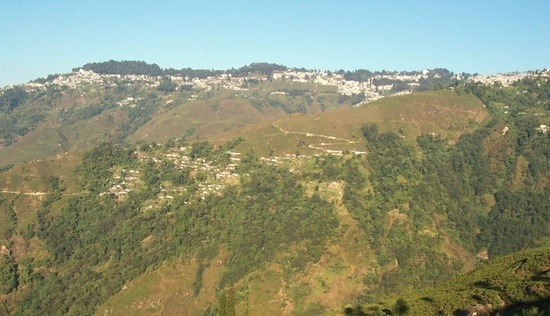 Darjeeling mountain