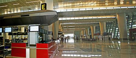 Delhi terminal 3 check in area