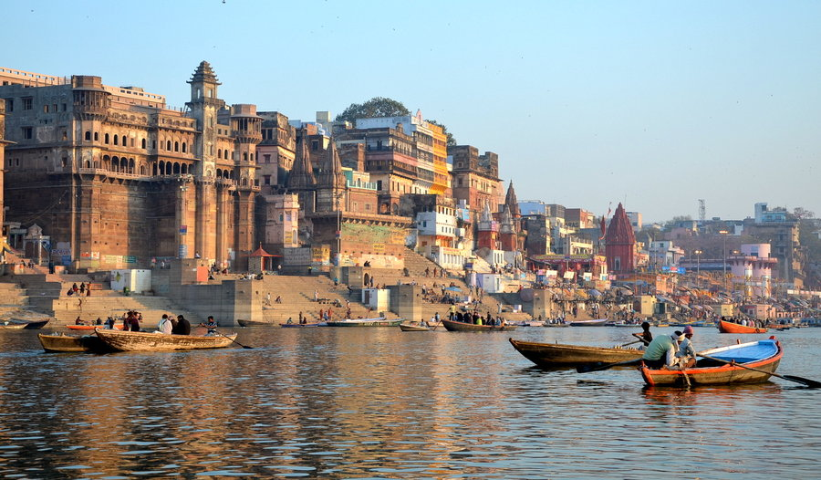 Ghats of Varanasi, monuments