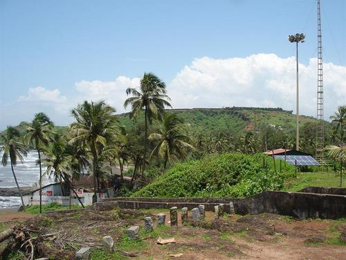 Viw of fort goa