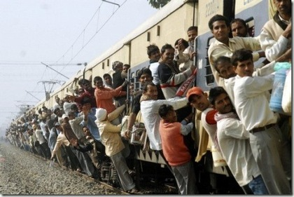 India Train Overcrowding