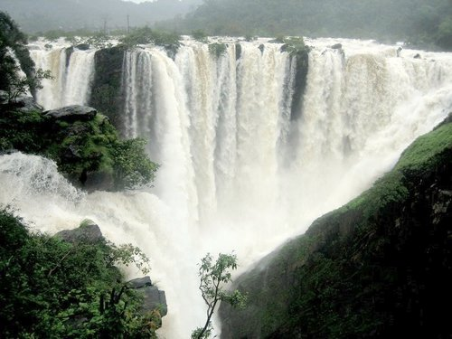 waterfalls in India monsoon