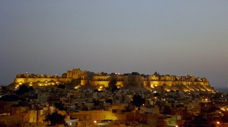 JAISELMER FORT at night