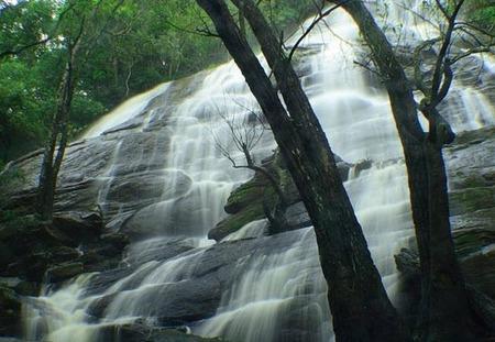 Kiliyur Waterfalls, the waterfalls in India