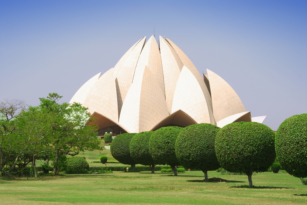 Lotus temple, India Monument