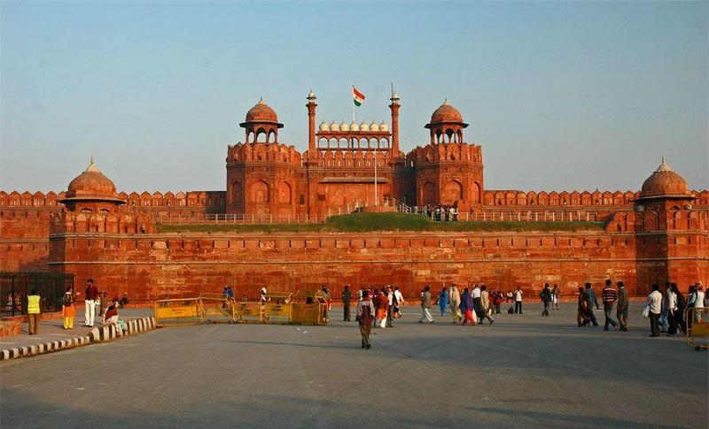 India monument, the red fort