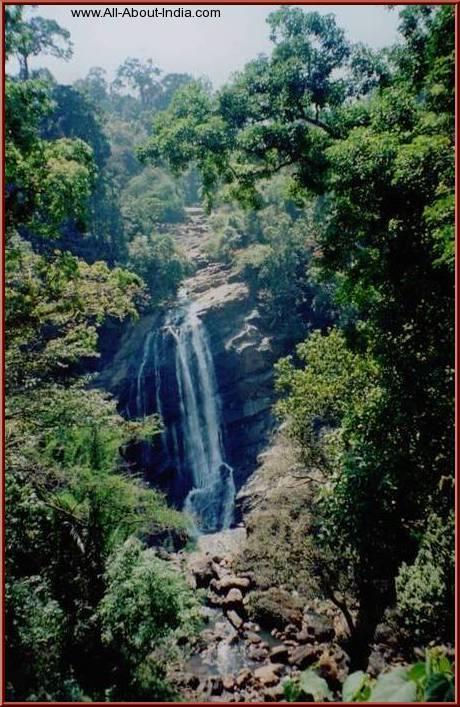 Munnar big waterfall, kerala