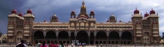 Mysore Palace Top header