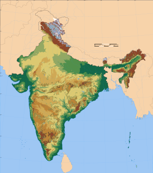 Map Of India Geographic.The Geography Of India