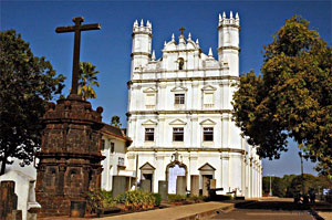Old Goa Church, Francis of assisi