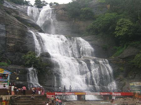 Papanasam Waterfall, India