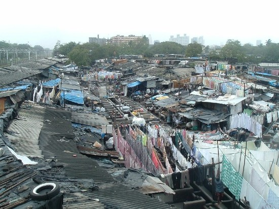 big Indian slum, poverty in India