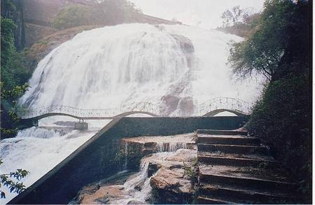 Waterfalls in India, umbrella falls