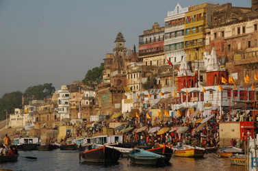 Backpacking in Varanasi