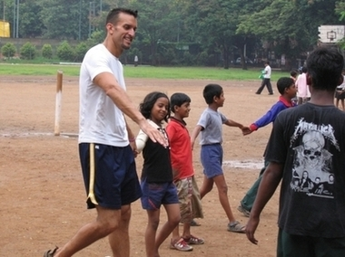 Volunteer, Kids running