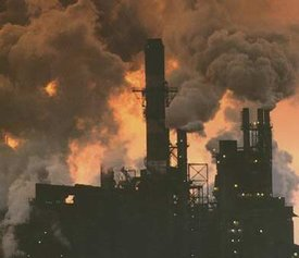 India air pollution from factories