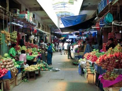 Fruit market in Mzsore, fruit market, Indian food,India