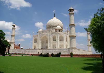 Taj Mahal Corner, The Taj Mahal