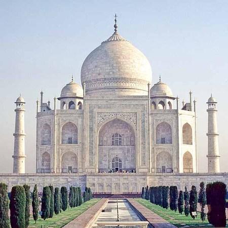 Taj Mahal, close taj Mahal