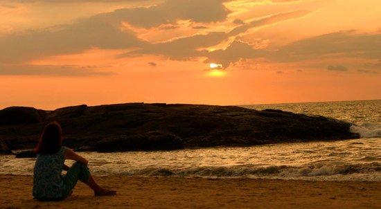 Kovalam Beach, Kerala, Sunset