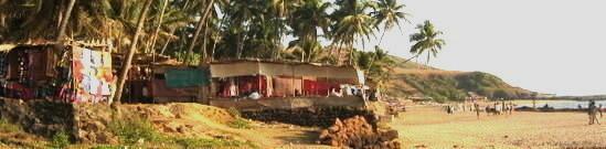 Anjuna beach Panoramic