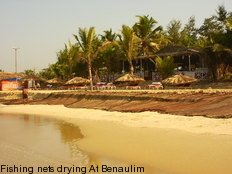 Benaulim, Fishing nets