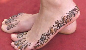 Indian Body art, Henna tattoos