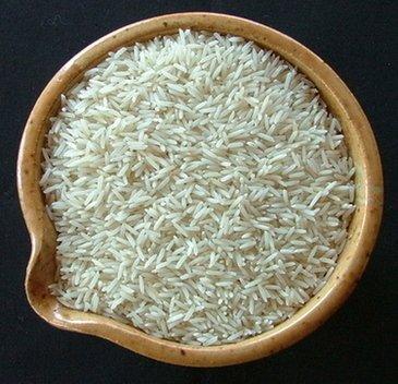 Basmati rice, bowl