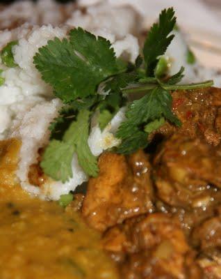 Chicken Korma, With rice, Simple chicken korma recipe