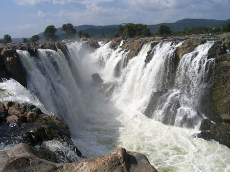 Hogenakkal Waterfall, Indian waterfall