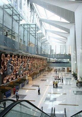 Immigration control, new delhi terminal 3