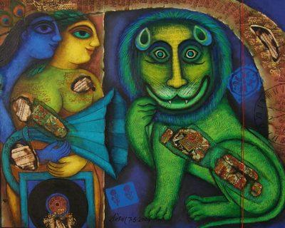 Rameshwar Singh, modern Indian art