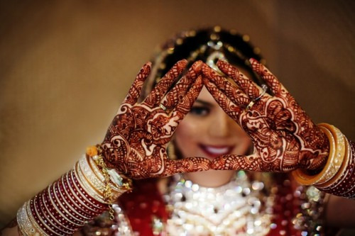 Indian Culture, Woman, Henna